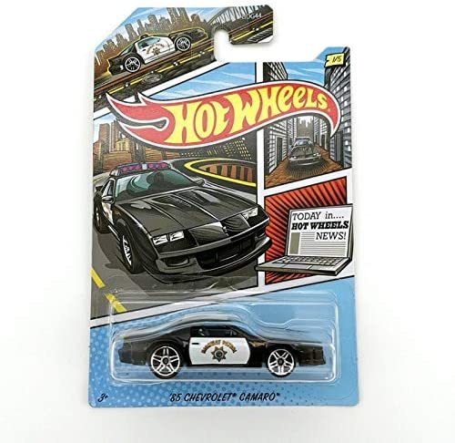 Police Collection 1985 Chevrolet Camaro Hot Wheels GJV62 1:64 Scale