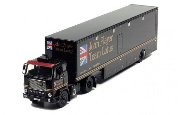 Ixo Models IXO-TTR017 Volvo F 88 racing transport John Player Team Lotus Racing