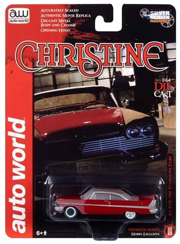 Auto World Christine 1958 Plymouth Fury (Partially Restored) 1:64 Diecast