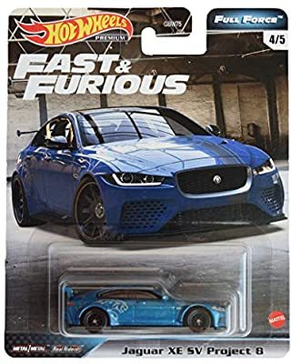 Hot Wheels Fast And Furious Premium - Jaguar XE SV Project 8 GBW75 GJR74