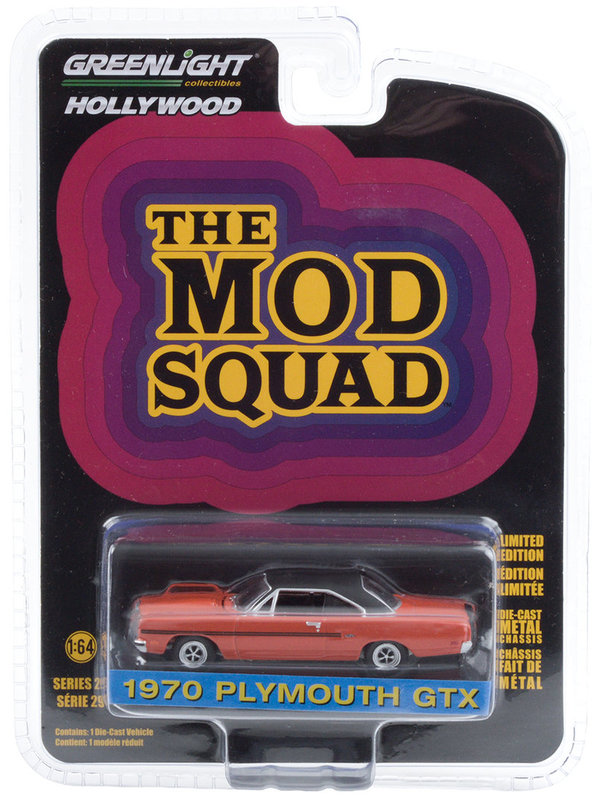 44890-A | 1:64 Hollywood The Mod Squad (1968-73 TV Series) - 1970 Plymouth GTX