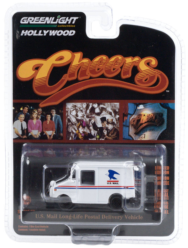 44890-D 1:64 Hollywood Cheers- Cliff Clavin's U.S. Mail Long-Life Postal Delivery Vehicle (LLV)