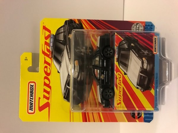 Matchbox Superfast #8 2006 ford crown vitoria police GKP47