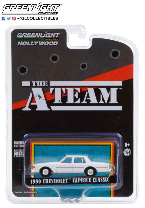 44865-C | 1:64 Hollywood The A-Team 1980 Chevrolet Caprice Classic