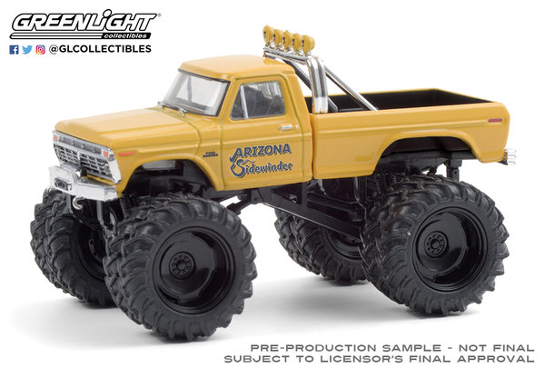 49080-B | 1:64 Kings of Crunch Series 8 - Arizona Sidewinder - 1975 Ford F-250 Monster Truck