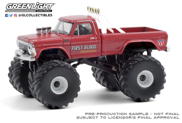 49080-C | 1:64 Kings of Crunch Series 8 - First Blood - 1978 Ford F-250 Monster Truck