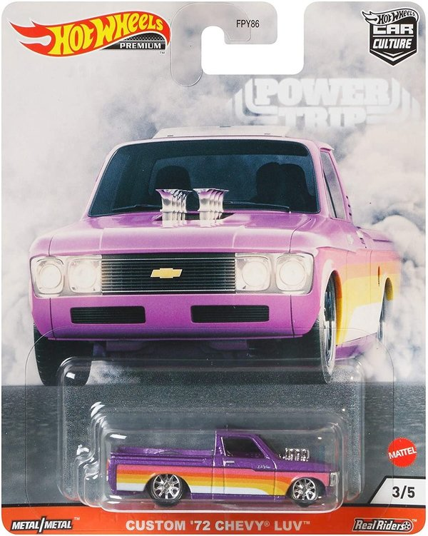 GJR03 Hot Wheels Custom 72 Chevy Luv Vehicle Premium Collection of Car Culture Favorites