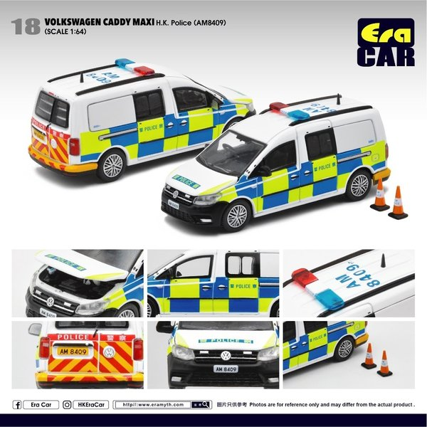 1/64 Volkswagen Caddy Maxi 1st edition HK Police